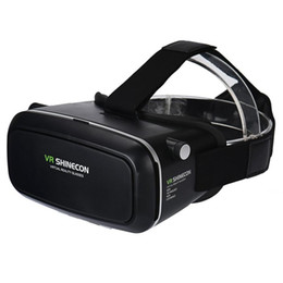 Wholesale Headset Video Games - 2017 Top sale VR SHINECON VR Virtual Reality Headset, Smart Phone 3D Movies Games Video Glasses with Bluetooth Remote Control