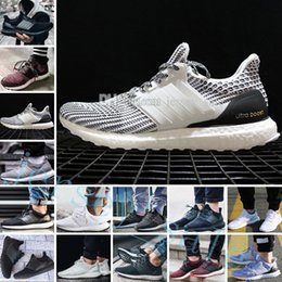 752d0dc949433 Ultra Boost 2.0 3.0 4.0 UltraBoost mens running shoes sneakers womens  designer Sports UB CNY Dog Snowflake Core Triple Black All White Grey  discount ultra ...