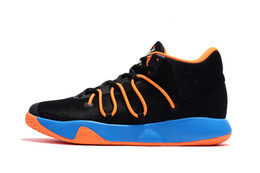 Wholesale Kevin Durant Shoes Colors - 2017 Original KD Trey 6 Basketball Shoes Kevin Durant Tennis Kds for Men Shoes Sneakers Training High Top Quality Athletics 6 Colors