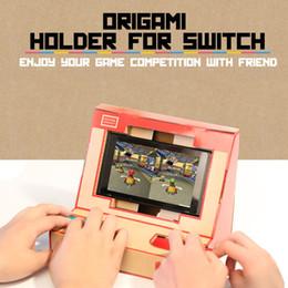 Canada Hot DIY Switch Case Labo Jouet Stand Pliable Labo Support Titulaire En Carton Support Arcade Pour NS Switch Navire Gratuit Offre