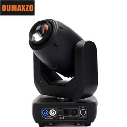 Wholesale Moving Head Gobo Beams - led Big Powerful 150W Gobo LED Moving Head Beam Wash Spot Lights 2 Gobo Wheels 3 Facet Prism Dj DMX Disco Stage Effect Light