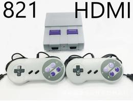 2019 portable La console de jeux HDMI Out permet de stocker 821 jeux vidéo de poche pour consoles de jeux SNES promotion portable