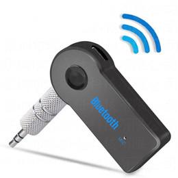 2019 alto-falante de mão bluetooth AUX3.5mm Adaptador de Áudio Bluetooth Speaker Bluetooth Adaptador de carro mãos-livres Bluetooth Home Classic speaker música receptor sem fio alto-falante de mão bluetooth barato
