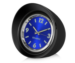 Wholesale mini pointer - Car Ornaments 45mm Luminous Quartz Clock Creative Mini Digital Pointer Decoration Watch Automobile Interior Decor Accessories