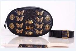 Wholesale Autumn Handbag - 2018 freeship Autumn And Winter stlye Most popul luxury handbags women bags designer small messenger bags feminina insect waist bag