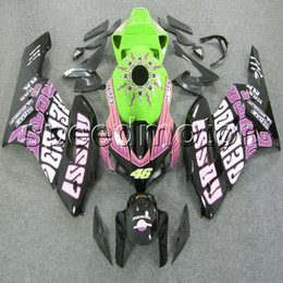 Wholesale Cbr Fairing Kit Purple - colors+Gifts Injection mold pink CBR 1000 RR motorcycle cowl Fairing for HONDA 2004 2005 CBR1000RR 05 04 ABS plastic kit