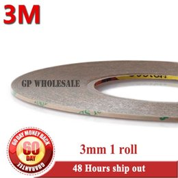 Wholesale Bonding Tapes - Wholesale- 2016 (3mm *55M) Two Faces Adhesive Transfer Tape for LCD Screen Digizter Lens Strong Adhesive Bond, Waterproof 3M 9495LE, 300LSE