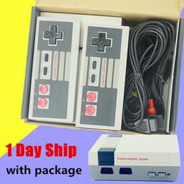 console dhl Desconto Nova Chegada Mini Game Console de Vídeo Handheld para NES jogos com caixas de varejo pode conter 500 620 Jogos Livre DHL