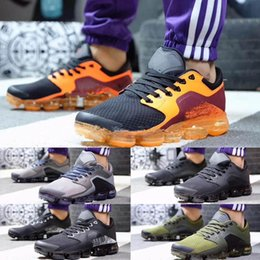Wholesale Runners Toe - New vapormax r Flagship trainers Casual Shoes mens Fast & Furious runner Orange Black trainers fashion kniting 2 sneakers Size Eur40-45
