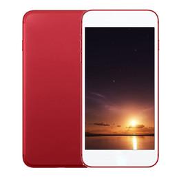 Wholesale I7 Ram - Sealed Box I7 plus Goophone smartphone Quad Core MTK6580 1GB RAM 4GB ROM 5.5 Inch 3G WCDMA unlocked cell phones