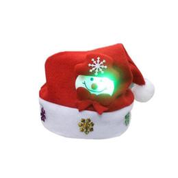 5fdf112fc5de8 snowman hat adult Promo Codes - New Year S Decor 2pc Adult LED Christmas  Hat Santa Claus