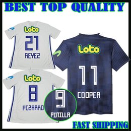 Wholesale Cooper Manning - new fonts 2018 Universidad de Chile soccer jerseys home COOPER 17 18 PIZARRO PINILLA Universidad de Chile football shirts camiseta de fútbol