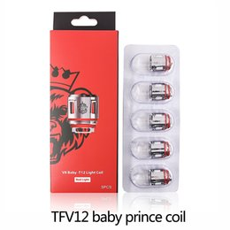 Wholesale light head - TFV12 Baby Prince Coils V8 Baby-Q4 V8 Baby Mesh V8 Baby-T12 Light T12 Coils Heads Compatible with TFV8 Baby Beast Coils 0266208