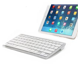 Wholesale Book Computers - Germany Layout Portable Bluetooth Wireless Keyboard For iPad for Mac Book PC Computer