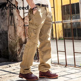 Wholesale Dark Grey Work Pants - Cargo Pants Men Brand Clothing Work Pant Men Multi Pocket Casual Trousers High Quality Male Outdoors Long Pants Sweatpants 138