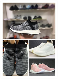 Wholesale Man City Socks - NEW NMD_CS2 PK Runner City Sock Nmd Cs2 Men Women Classic Running Shoes Fashion City Sock Cs2 BY2596 Sports shoes Sneaker