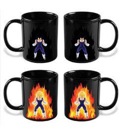 goku cup Sconti Dragon Ball Z Mug cartoon Goku Mug Hot Cambiare colore tazze Super Saiyan Coffee Cups C5010