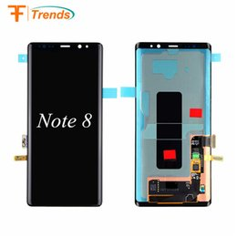 Wholesale Galaxy Note Prices - Hot Sell Wholesale Price Original for Samsung Galaxy Note 8 Lcd Touch Screen Without Frame Digitizer Replacement
