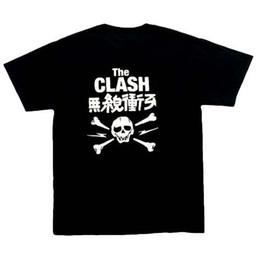 Wholesale post music - Clash In Japan music t Shirt, Black ,100% cotton, S, M, punk rock, post-punk