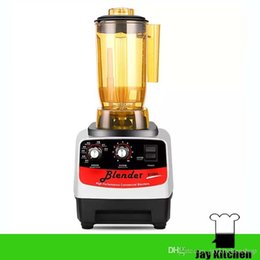 Wholesale Milk Shake Mix - Commercial drink blender multi-purpose juicer blender smoothie ice baby food blender bubble tea shaker soya milk machine milk shake maker