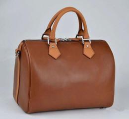 damen handtaschen stil Rabatt Frauen Umhängetasche Classic Style Fashion Taschen Frauen Tasche Schultertasche Lady Totes Handtaschen Speedy 35cm mit Schultergurt, Staubbeutel