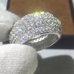 2019 gioielli diamonique Victoria Wieck Women Fashion 300pcs Diamonique Cz 925 Sterling Silver Fidanzamento Fede nuziale anello per monili delle donne regalo gioielli diamonique economici