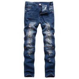 rock lights Promo Codes - Free Shipping Mens Robin Rock Revival Jeans Crystal Studs Denim Pants Designer Trousers Men's size 28-38 New
