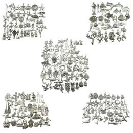amico d'argento Sconti 5 stile Fish Home Charm argento antico pendente ciondolo animale fascino in lega di zinco gioielli ciondolo fai da te accessori fatti a mano gioielli