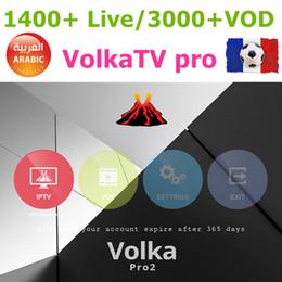 Wholesale Hd One - VOLKA H96 arabic europe iptv code smart IPTV subcription french europe spanish belgium channels hd265 m3u vod one year