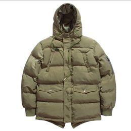 a93011028dfa Wholesale Personality Pocket Decoration Mens Designer Winter Coats Fashion Mens  Winter Jacket Keeping Warm Luxury Brand Winter Jacket Men