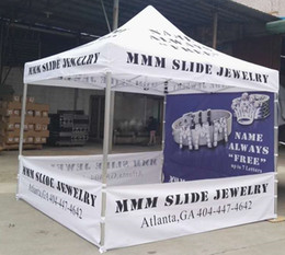 Wholesale Quick Meter - customized logo gazebo sun shelter 3*3 meters with aluminum bracket chinese tent   garden tent   pole pop up