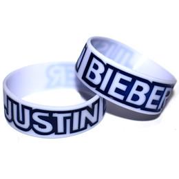 justin bieber armbänder silikon Rabatt Justin Bieber Silikon Armband Tragen Sie dieses Armband, um Ihr Idol zu unterstützen