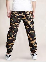 camouflage hose für kinder Rabatt 4-10Yrs Frühling Herbst Hosen Teenager Kleidung Kinder Camouflage Hosen Kinder Hosen Jungen Hosen Camo Jungen Militärhosen