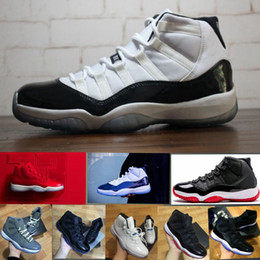 Wholesale Box Culture - With box New 11 High Gym Red Midnight Navy UNC Men Basketball Shoes Concord 11s women Sports shoes Sneakers