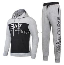 Wholesale suit hip hop - YEEZUDesigner Tracksuit Men Luxury Sweat Suits Autumn Brand Mens Tracksuits Jogger Suits Jacket Pants Sets Sporting Suit Hip Hop Sweatshirts