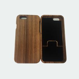 Canada Le fabricant vend directement Apple 6 cas en bois solide plein téléphone portable housse de protection en bois iphone6 cas de téléphone portable deux Offre