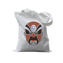 Wholesale vintage dress shops - hot selling woman canvas bag vintage baguette luxury shopping bag vintage grey tote