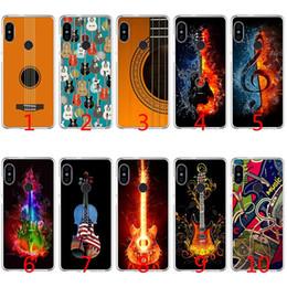 pro guitariste Promotion Coque en TPU Silicone Guitar Music pour Housse Xiaomi Redmi Note 4X 5 Pro 6 Pro 5A 4A S2 5 Plus