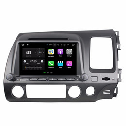 2019 honda civic car dvd gps player 1024 * 600 Android 7.1 Quad Core 2 din 8