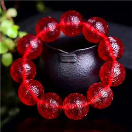 2019 tibet bernstein silber armband Amber Bienenwachs Blut Hand Armband Wein rot natürlichen blutigen Perlen Armbänder Männer und Frauen 12,14 mm günstig tibet bernstein silber armband