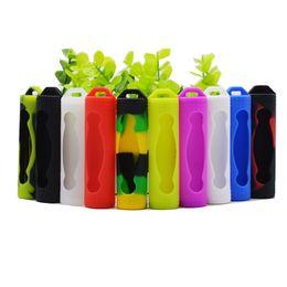 Bunter Silikon-20700 Batterie-Kasten-Gummi-Hülsen-schützende Abdeckung 22mm für einzelne 20700 Batterien umkleidet Haut-Halter-Satz DHL frei von Fabrikanten