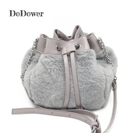 6924530fe6 Do Dower Fashion Faux Fur Women Bucket Bag Leisure Handbag Drawstring  Tassel Crossbody Bags Female Short Plush Shoulder Bag Weekend Bags Luxury Bags  From ...