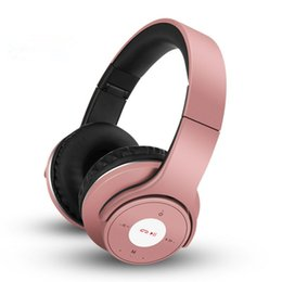 Wholesale mp3 roses - New wireless 4.0 bluetooth headset Folding bluetooth headset So3 special edition mp3 tf card fm