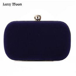 Luxy Moon daim embrayage solide femmes soir sac journée embrayages mini sac sac à main vintage bourse sac de fête de mariage sacs en gros 926 ? partir de fabricateur