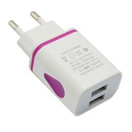 LED USB 2 Port Mur Voyage Accueil Adaptateur Chargeur UE Plug Charge pour iPhone Pour Samsung S7 LG Pour HTC plus de smartphones ? partir de fabricateur