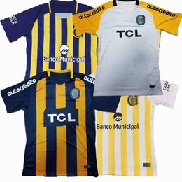 Wholesale Best New Homes - Top! New 2018 Rosario Central Jersey 17 18 19 home away best quality Sports Outdoors shirts jeresys