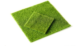 Wholesale Dance Touch - Fake Moss Artificial Lawn Micro Landscape moss Grass flores artificiais flowers Foliage for home weddinh decoration real touch AF04
