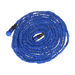 hose 75ft Promo Codes - H9869BL 75FT Ultralight Flexible 3X Expandable Garden Magic Water Hose Pipe + Faucet Connector + Fast Manguera De Jardin Agua Pipa Hadice