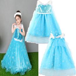 spitzenschneeflocken Rabatt Mädchen Prinzessin Kleid 2018 neue Kindermode Spitze Schneeflocke Pailletten ärmelloses Unterkleid Baby Kleidung B