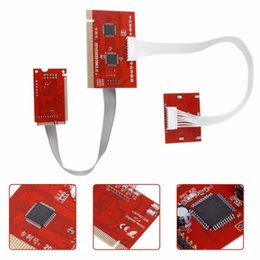 Analizador de tarjetas de diagnóstico online-Freeshipping Tablet PCI placa madre Analyzer Tester Tester Post Test Card para PC portátil de escritorio PTI8